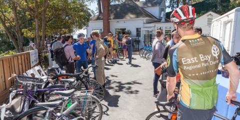 Bicyclists at Vista Point