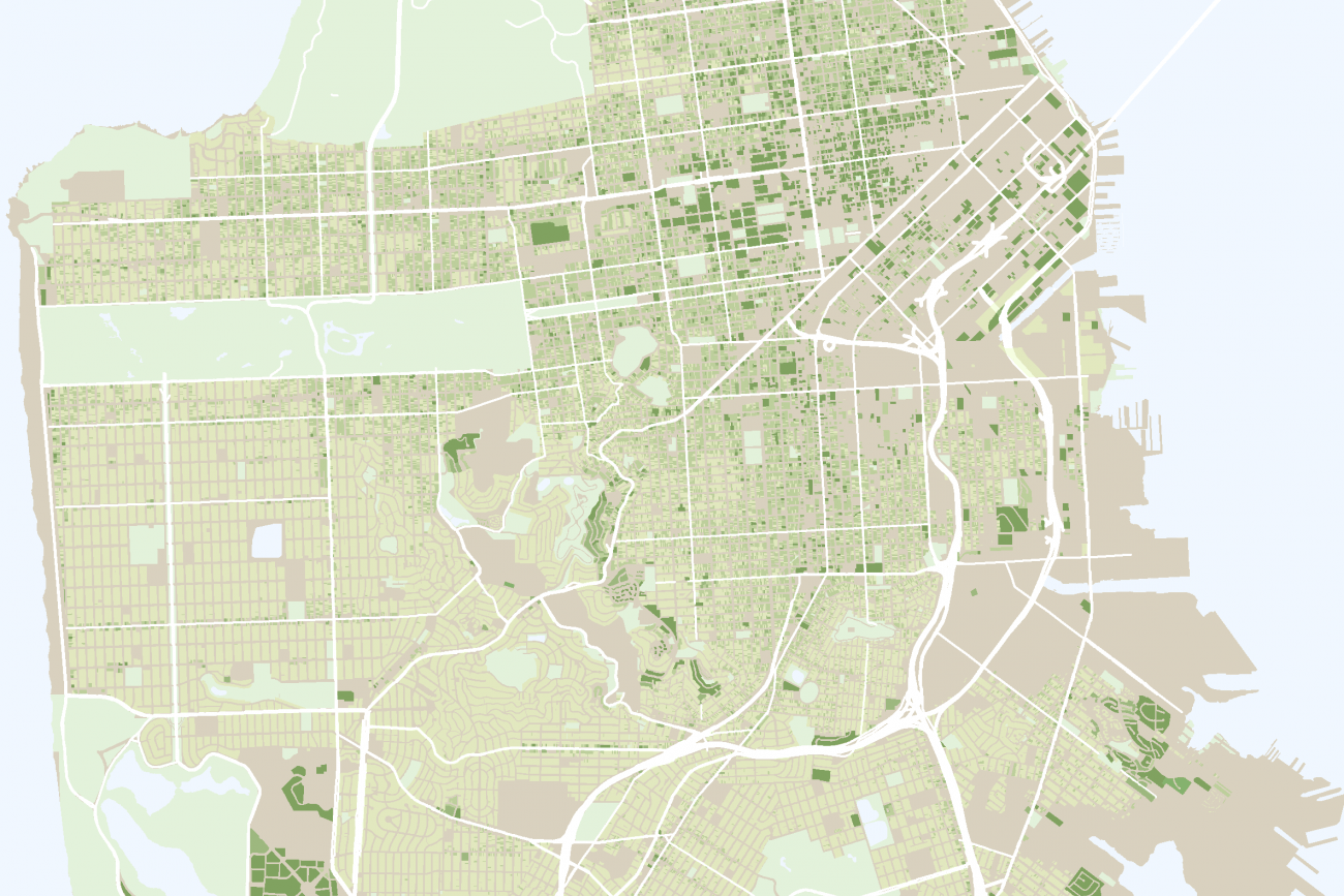 A map of San Francisco