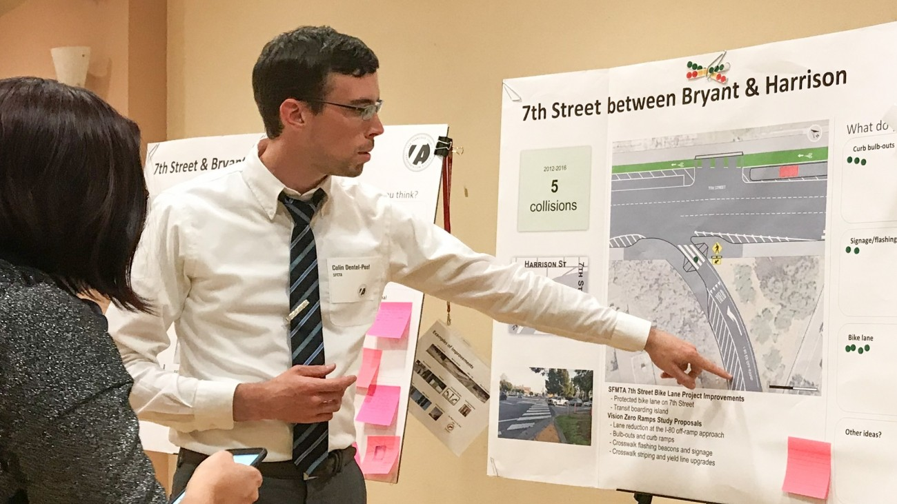 A Senior Transportation Planner at work