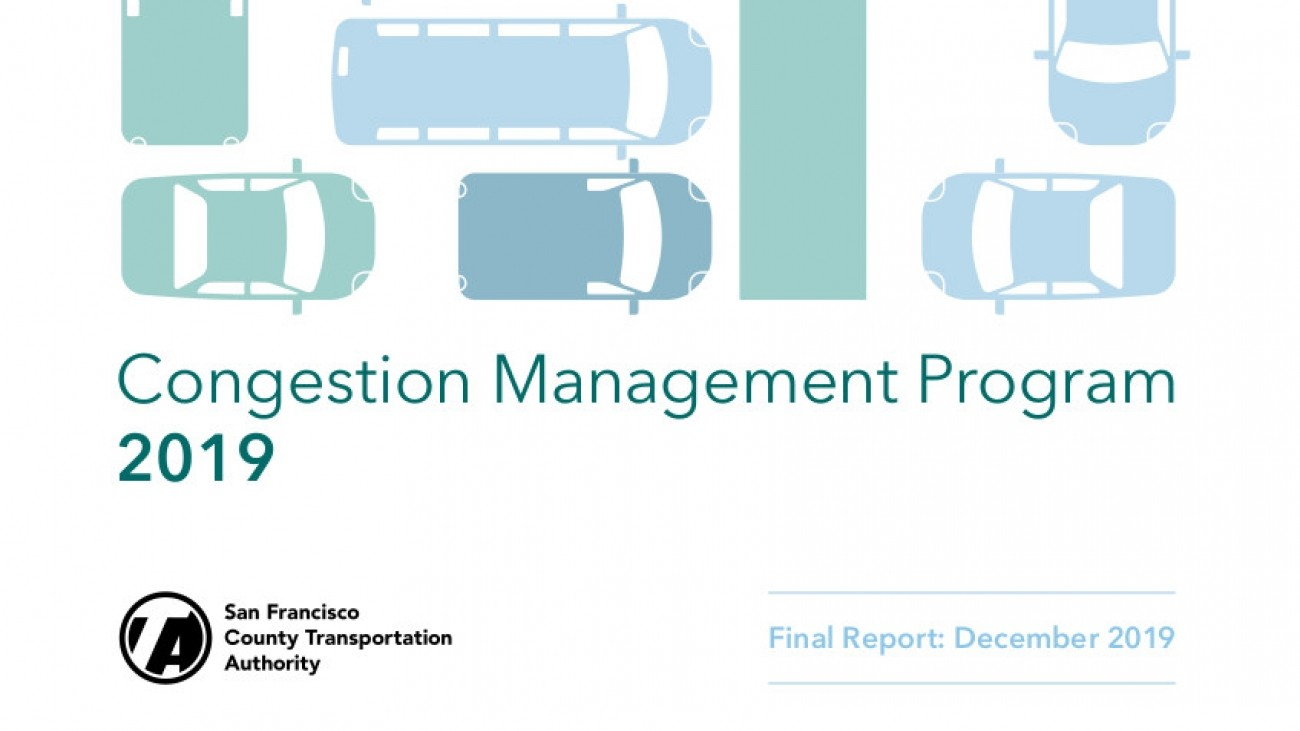 cover of congestion management program report