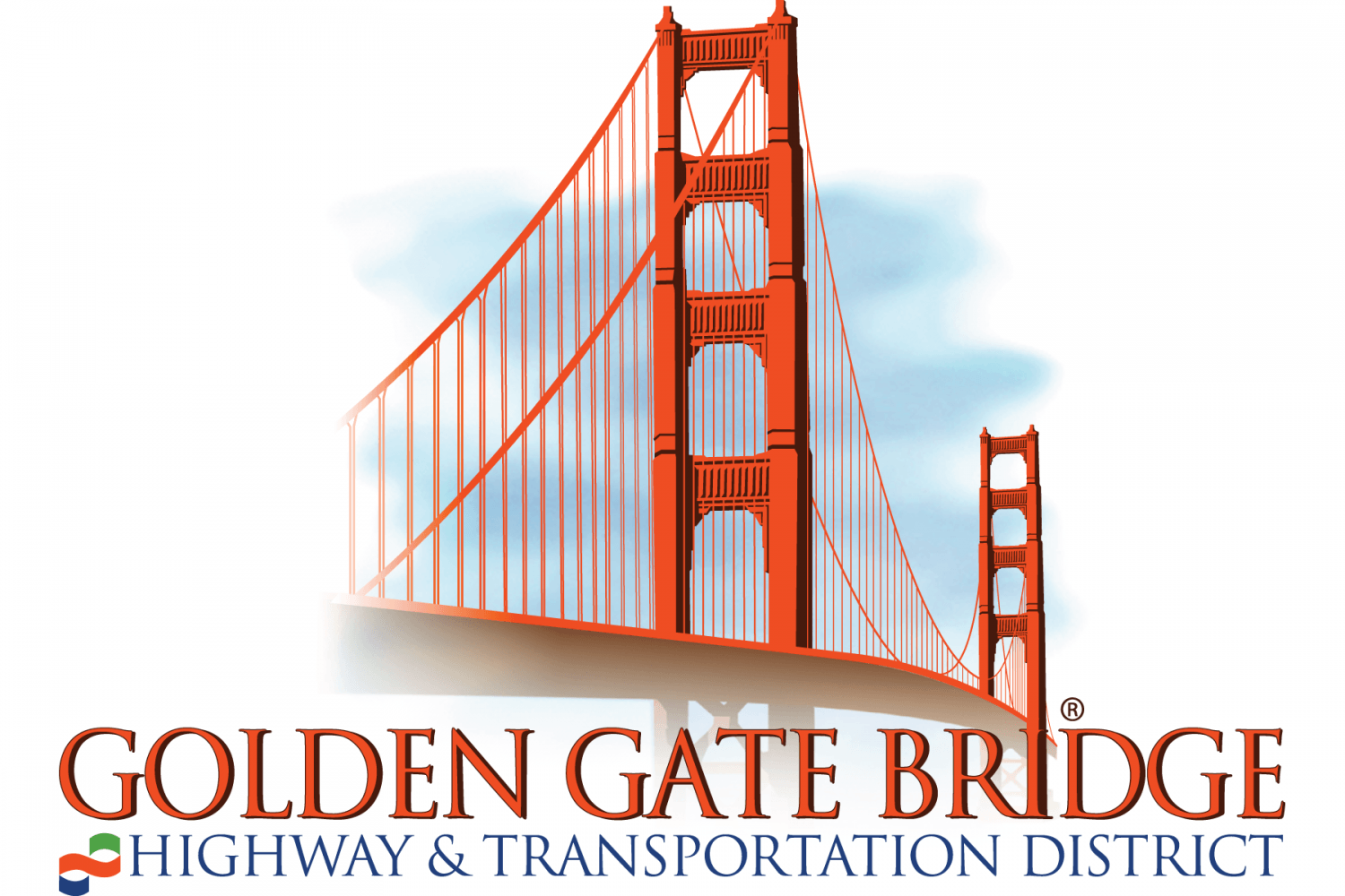 Golden Gate Bridge, Highway and Transportation District logo